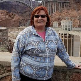 Karen Callahan at Hoover Dam