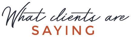 client testimonials title